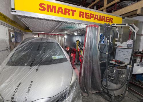Crash repairs smart repairer